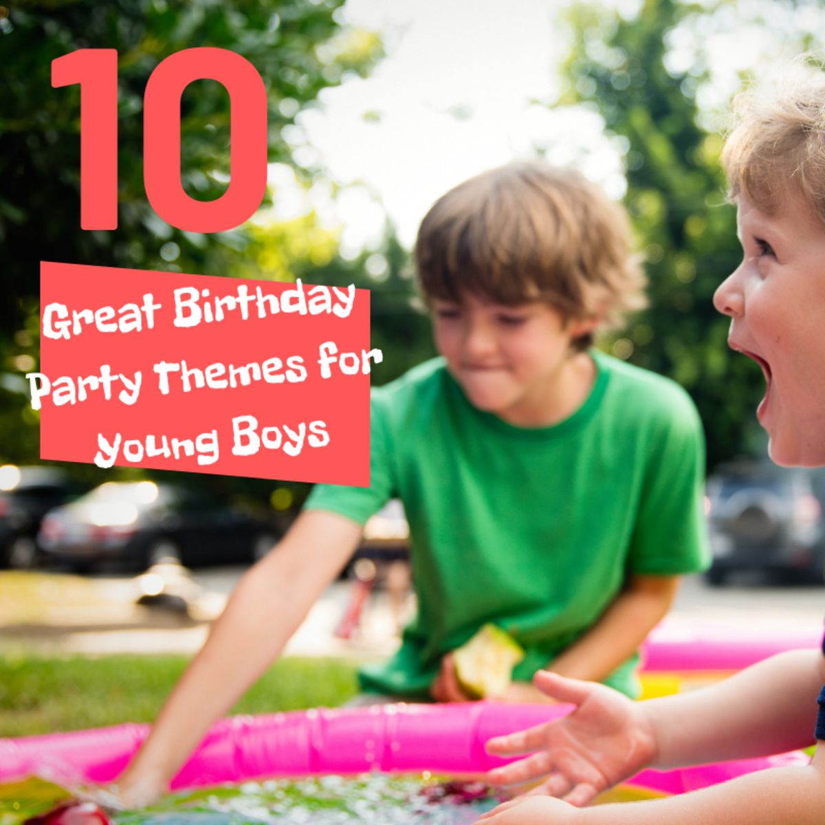 These 10 themes are sure to be a hit with your son and all his friends!