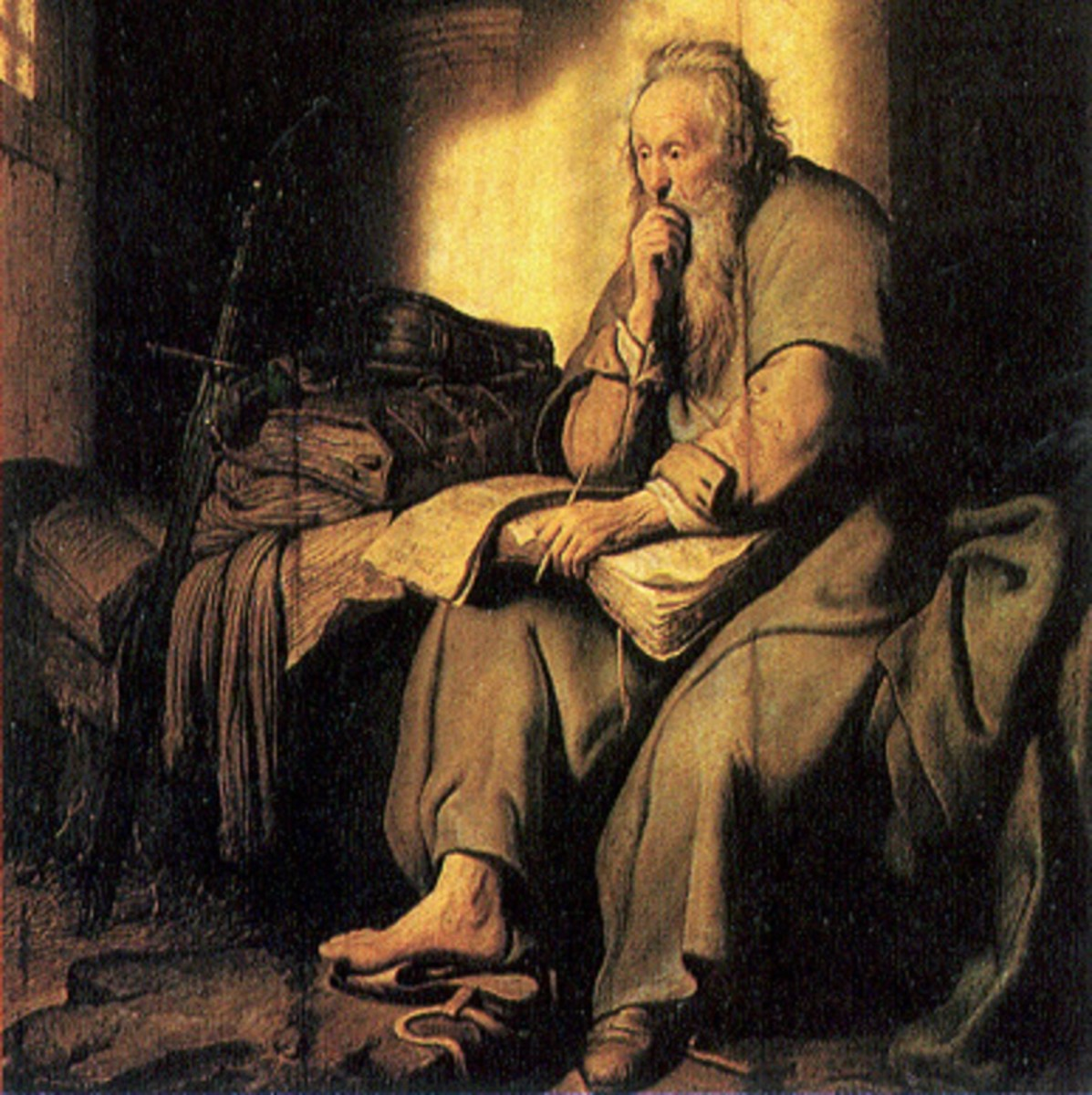 Rembrandt's Apostle Paul in Prison