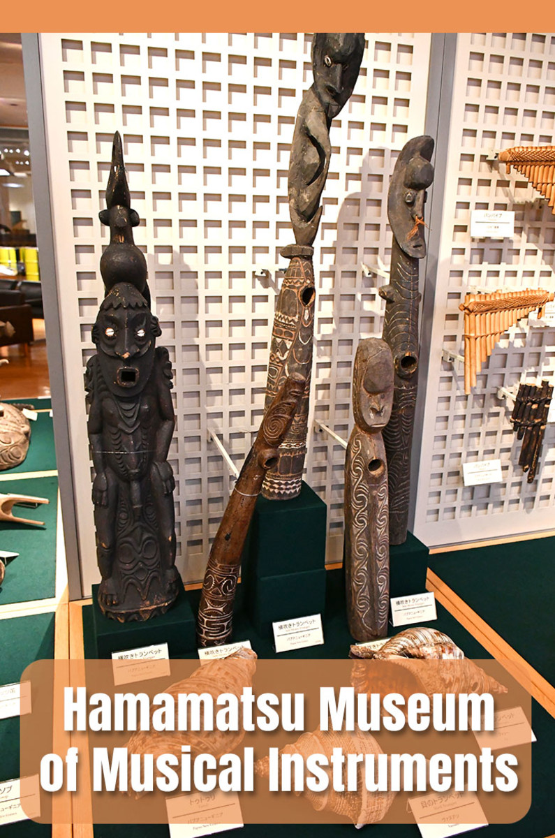 No other attraction in Japan celebrates music as enthusiastically as the Hamamatsu Museum of Musical Instruments.