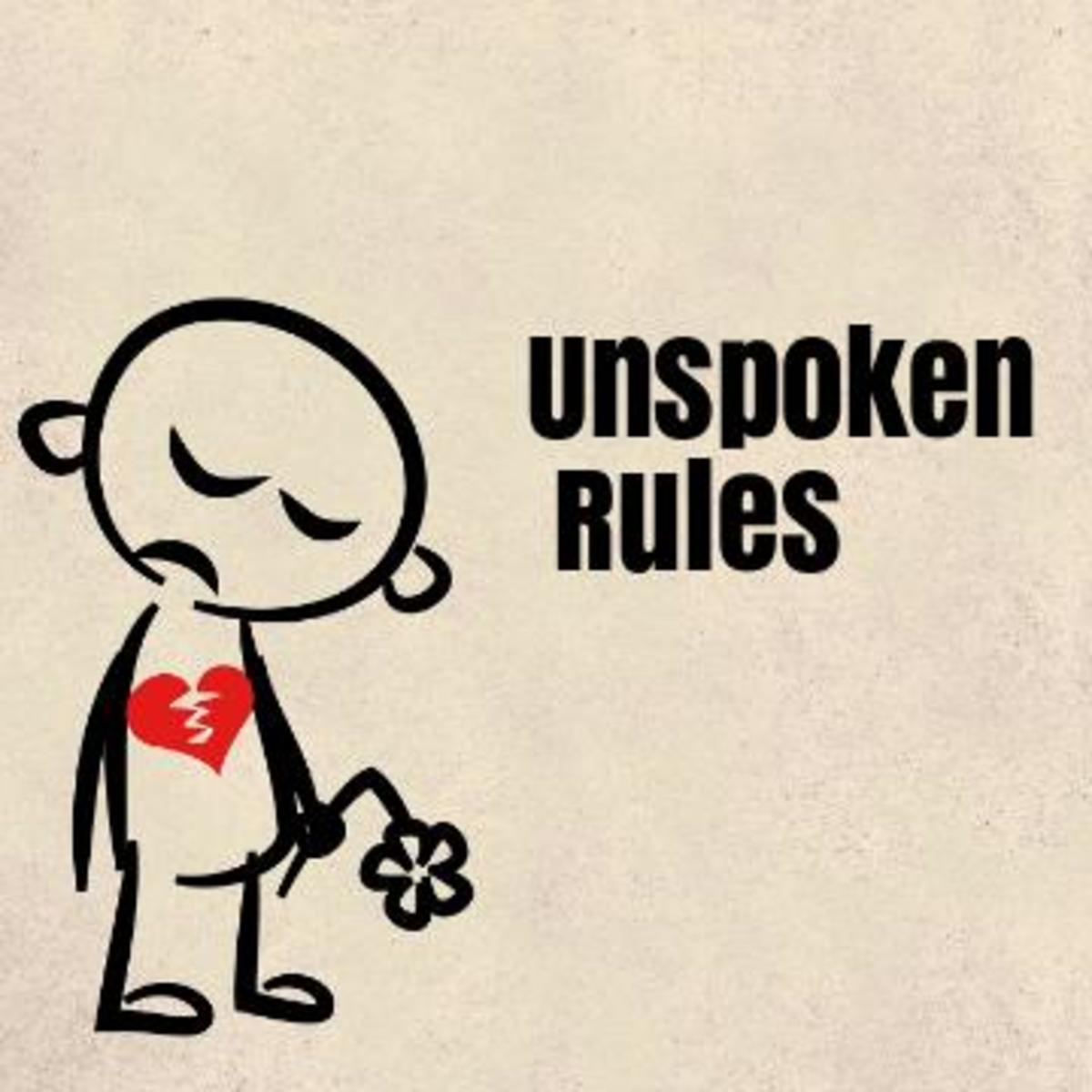 Poem: Unspoken Rules