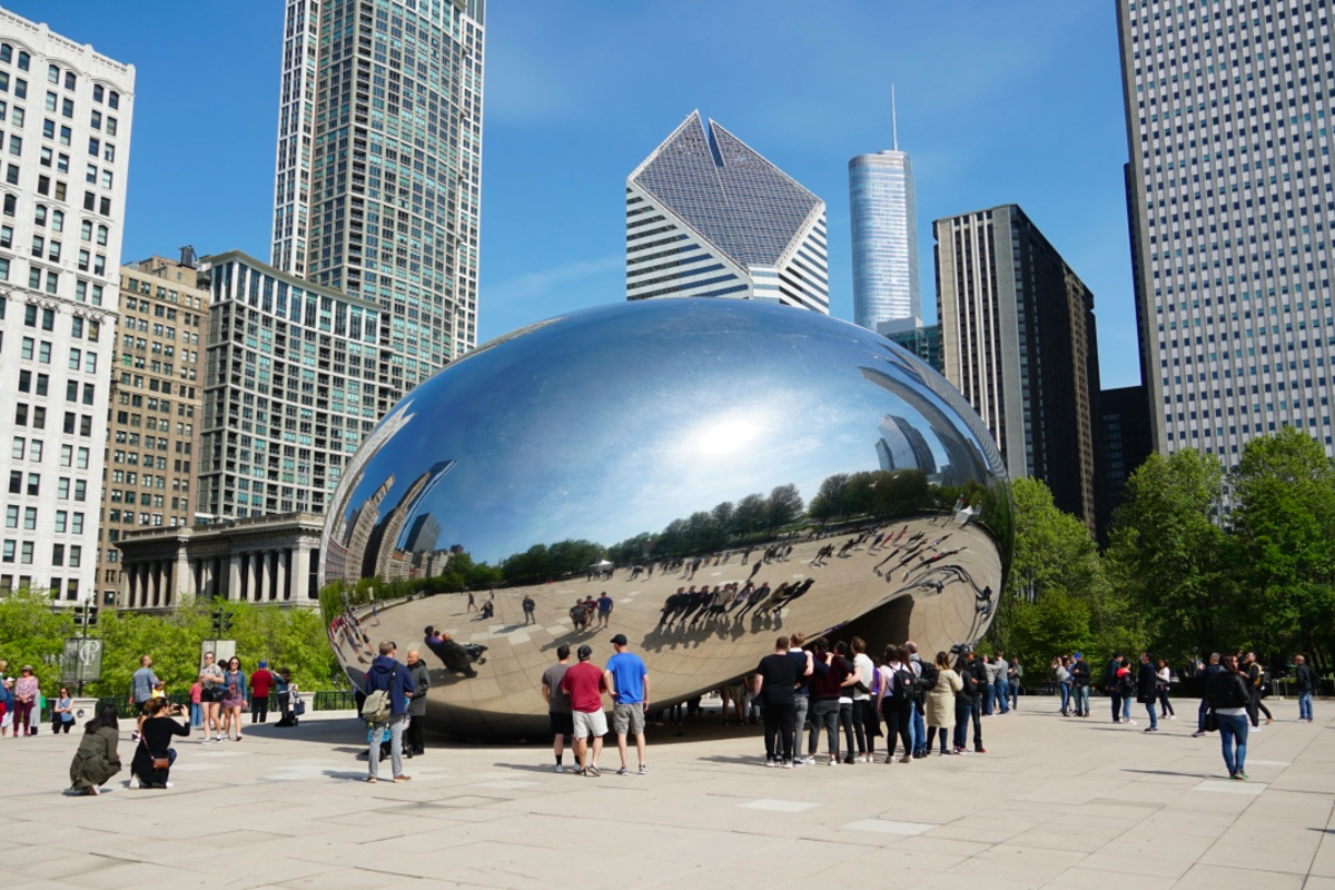 Visiting Cloud Gate, Chicago's Iconic Bean