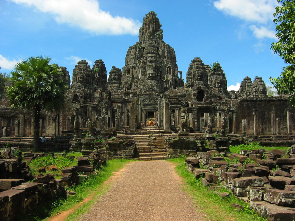 Bayan Temple in Angkor Thom