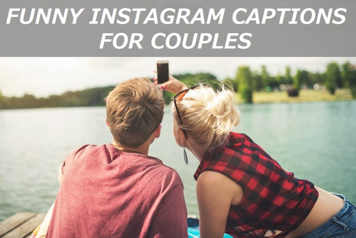 100 Funny Instagram Captions For Couples Turbofuture