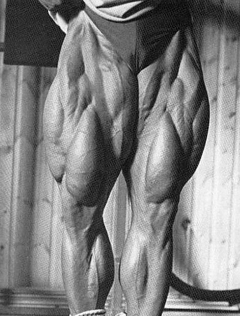 The incredible leg development of Tom Platz.
