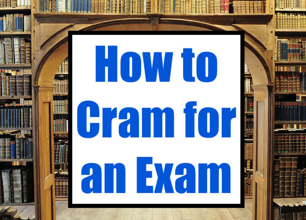 This article explains the best way to cram for an exam or test in five simple, easy to follow steps