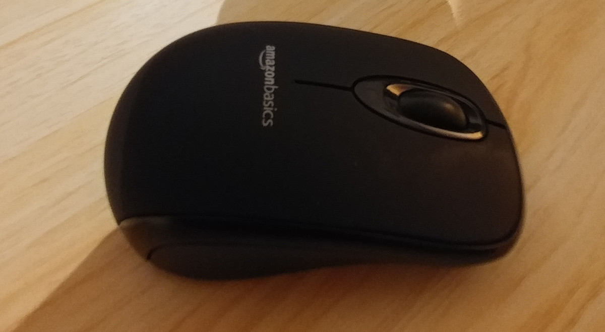 Amazon Basics USB Wireless Mouse Review
