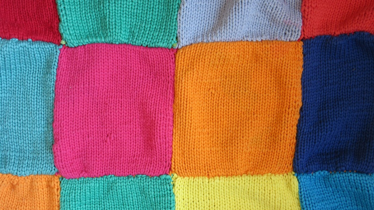 How to Knit Squares for Charity