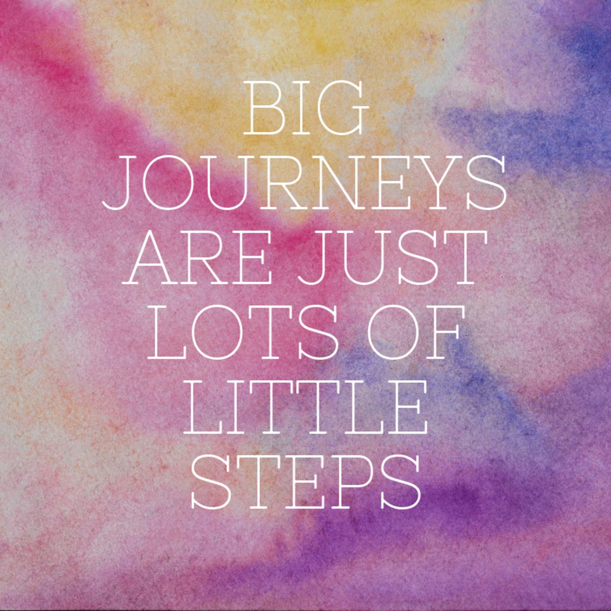 Big Journey Little Steps