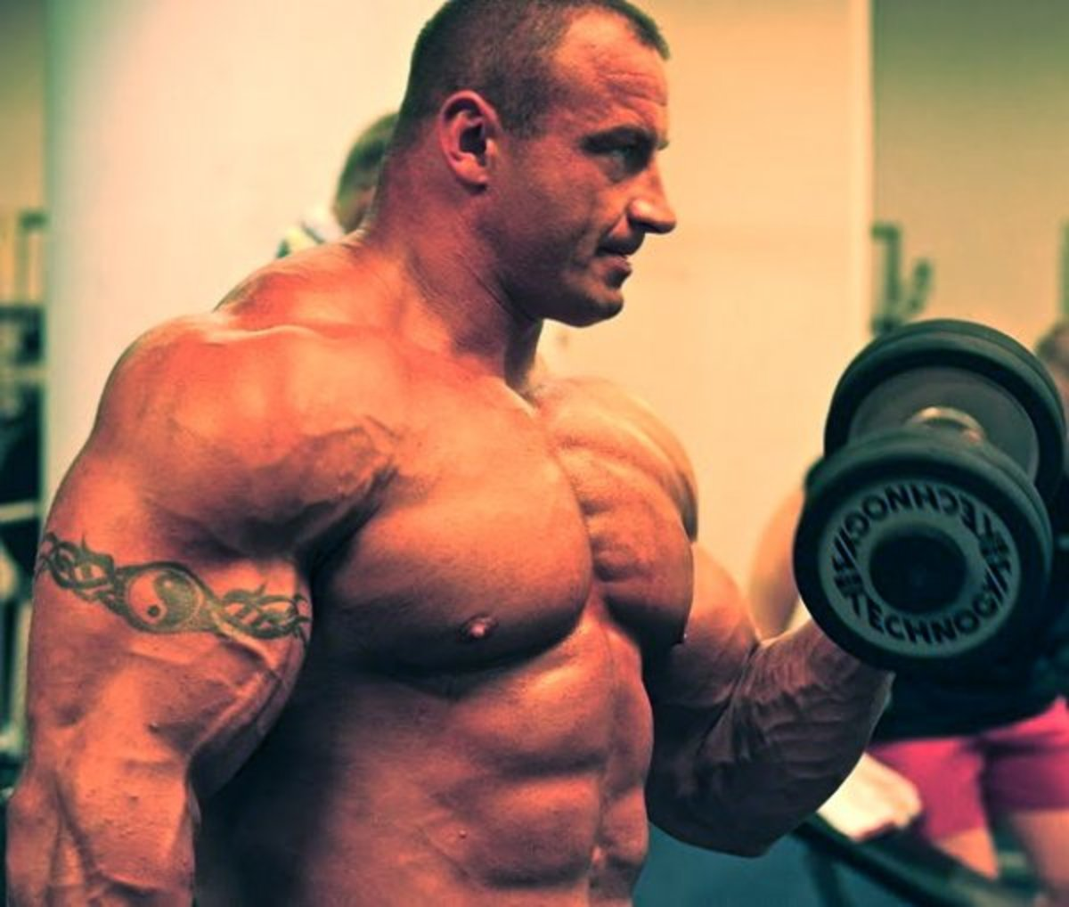 Mariusz knows how to train for size and strength.