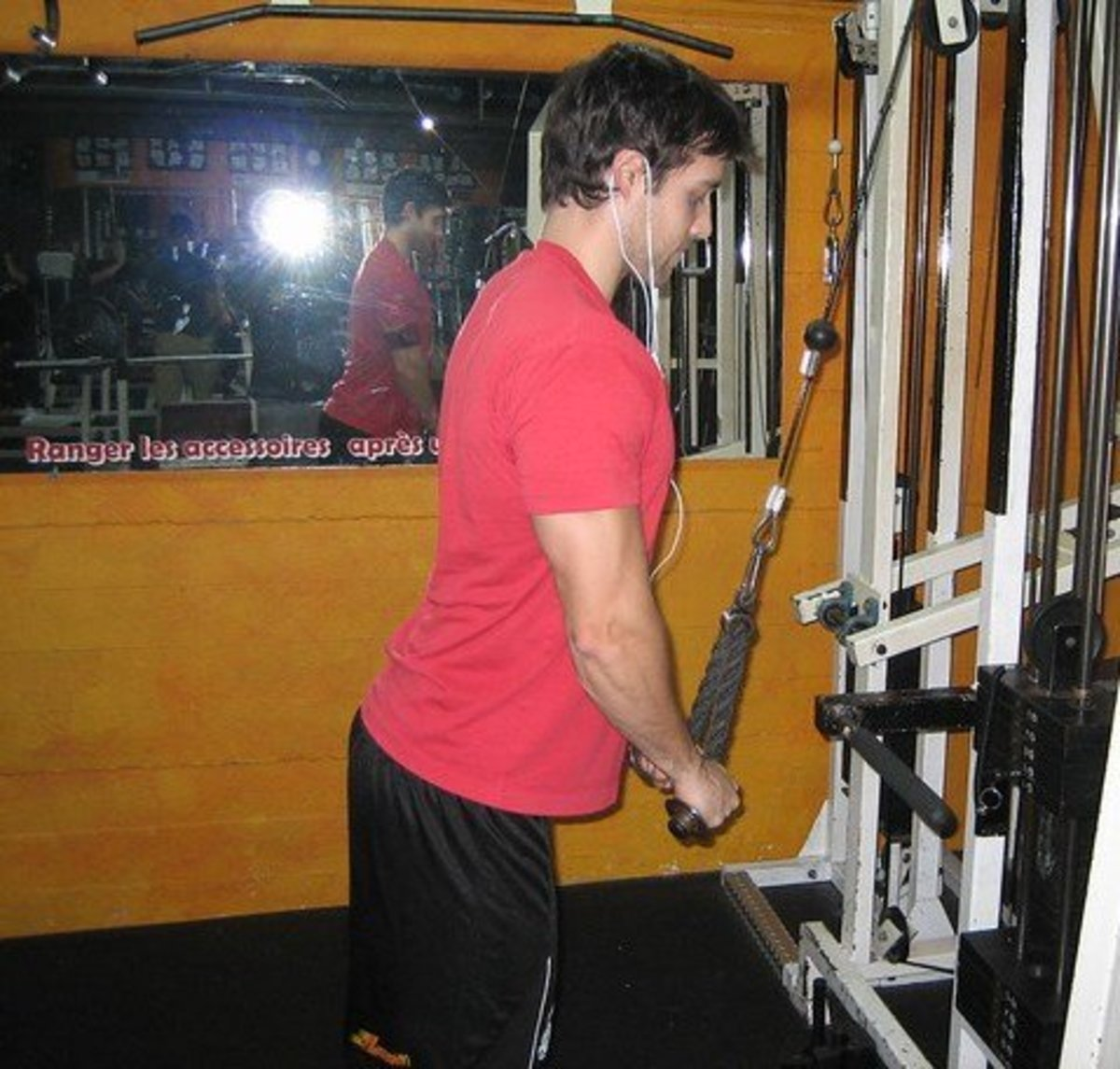 Triceps Muscle Blaster: Drop-Sets Using the Rope