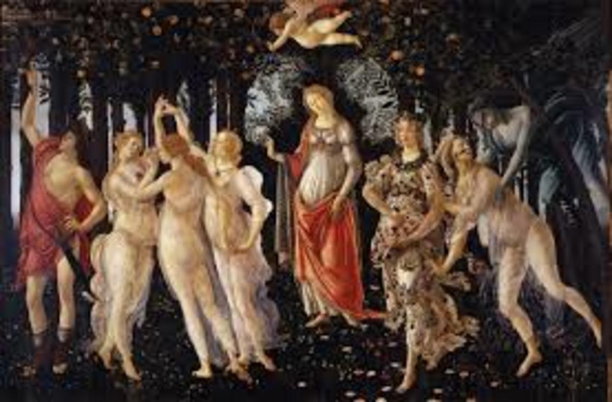 Primavera, by Botticelli
