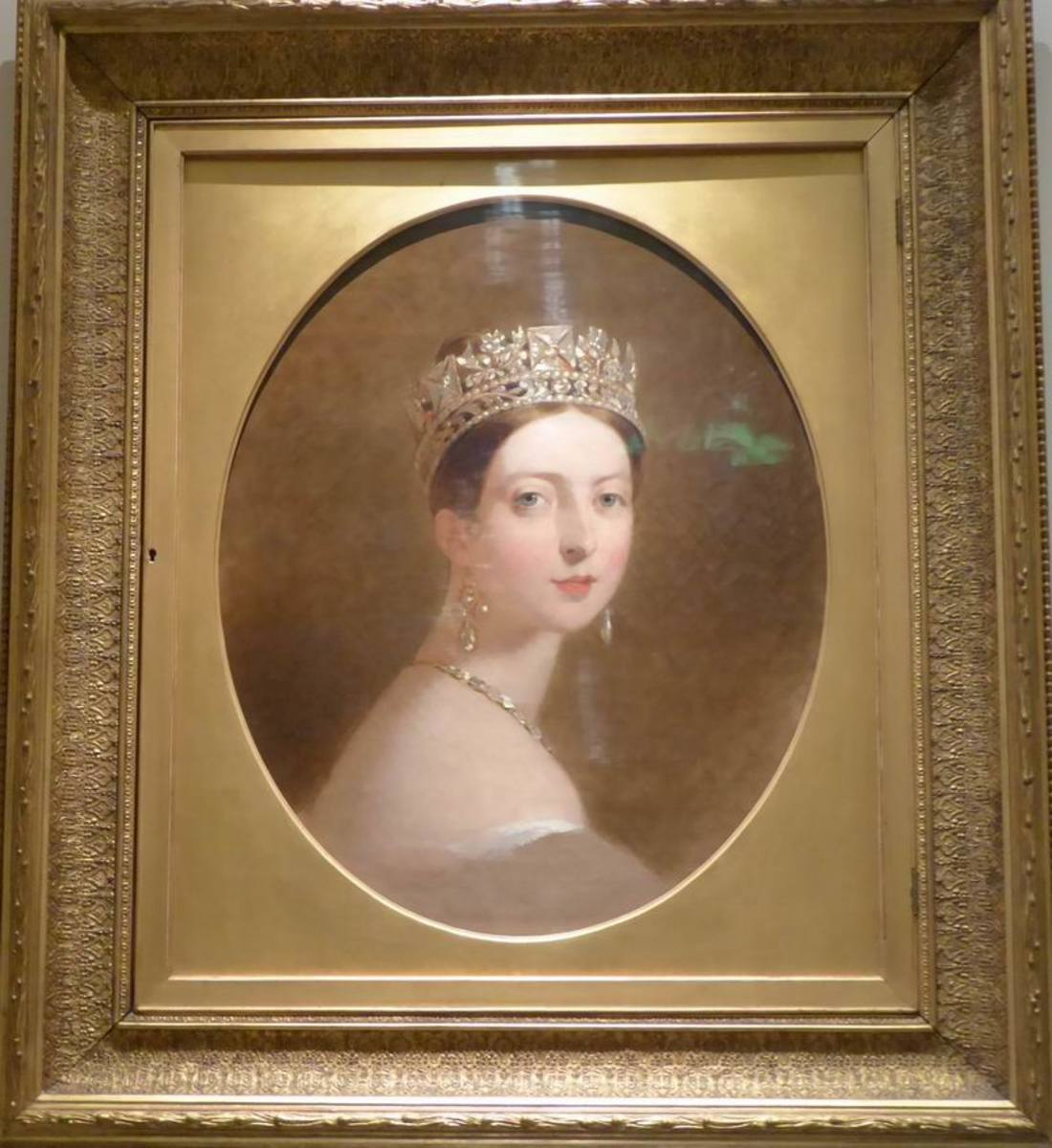 Portrait of Queen Victoria by Thomas Sully (1837-9). Image by Frances Spiegel 2019. All rights reserved.