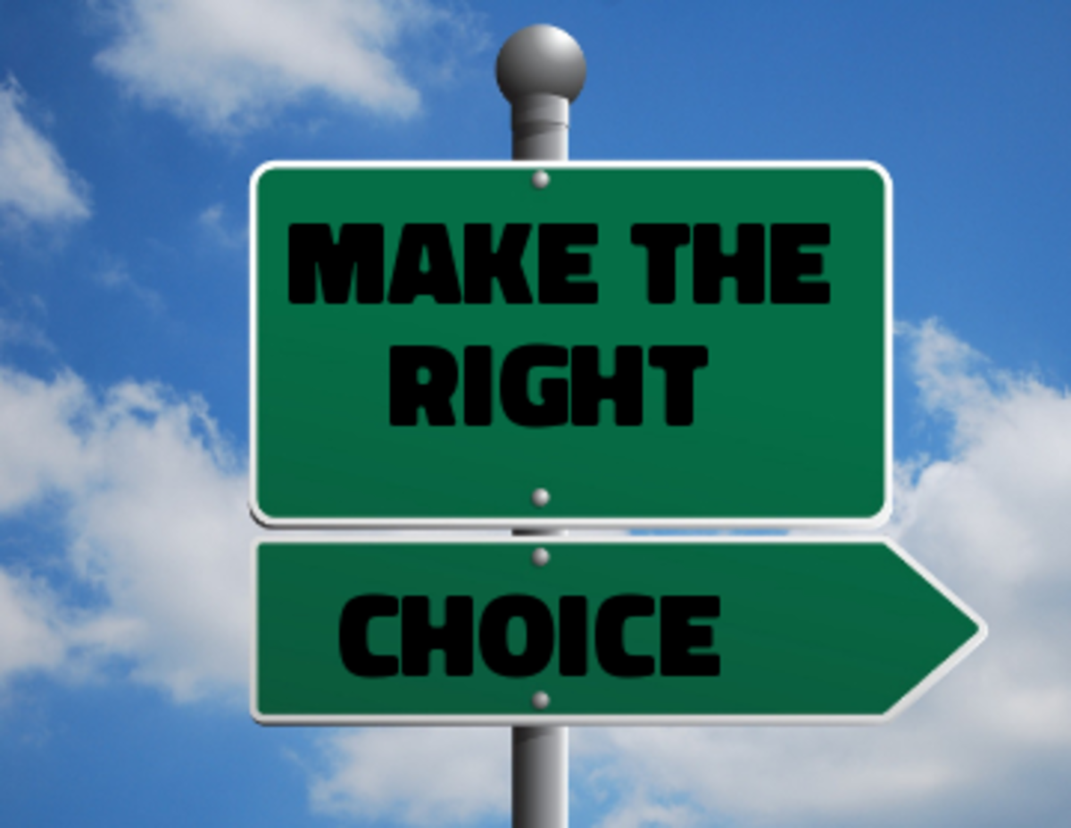 Poem: Make the Right Choices