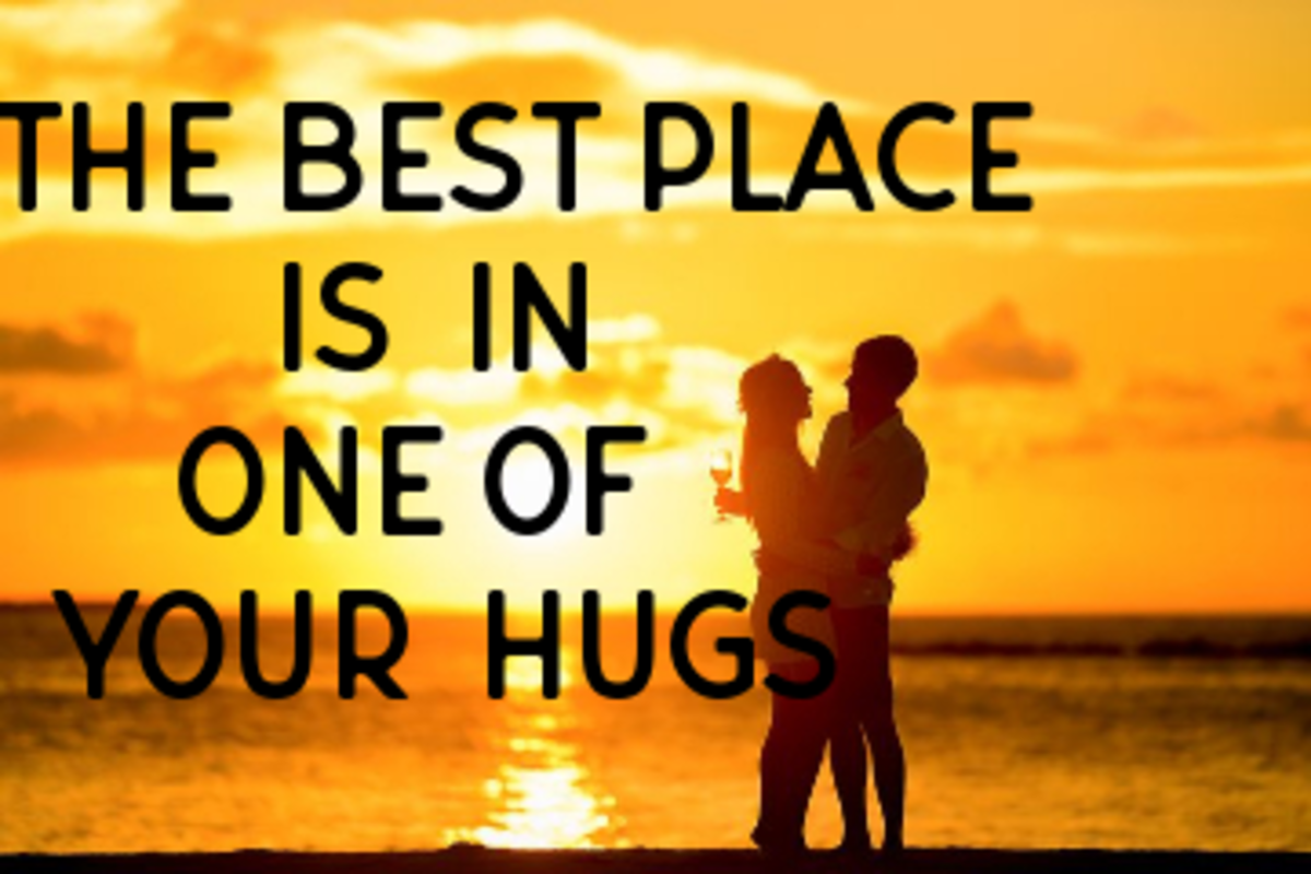 Poem: The Best Place Is in One of Your Hugs