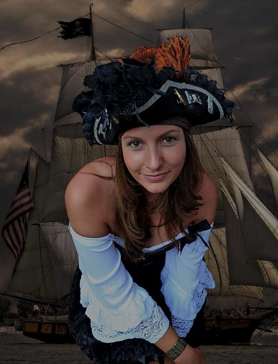 Female pirate.