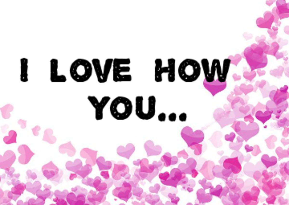 Poem: I Love How You...