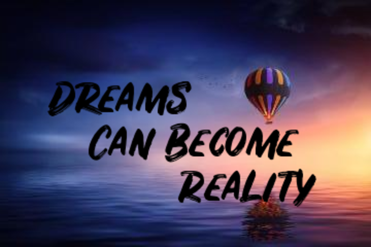 Poem: Dreams Can Become Reality