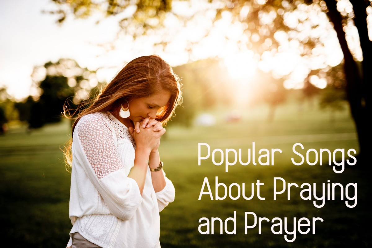 Celebrate the power of prayer with a playlist of pop, rock, country & R&B songs about praying. Get on your knees to offer thanks for the bounties in your life