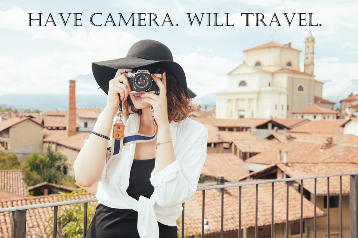 Show me a traveler without a camera!
