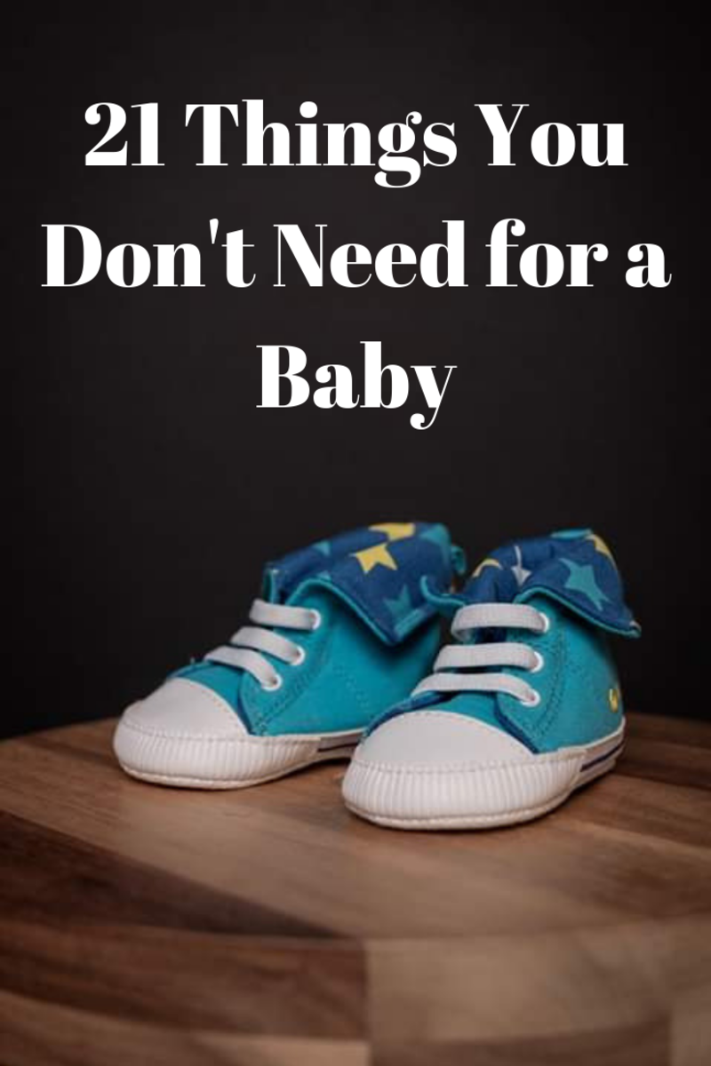21 Things You Don't Need for a Newborn Baby