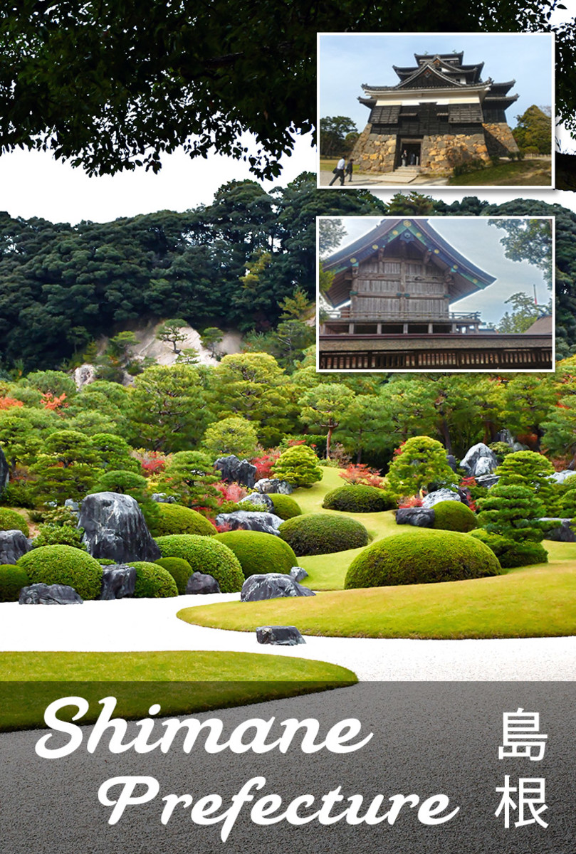 Shimane Attractions: Shinto Gods, Surreal Gardens, and an Austere Black Castle
