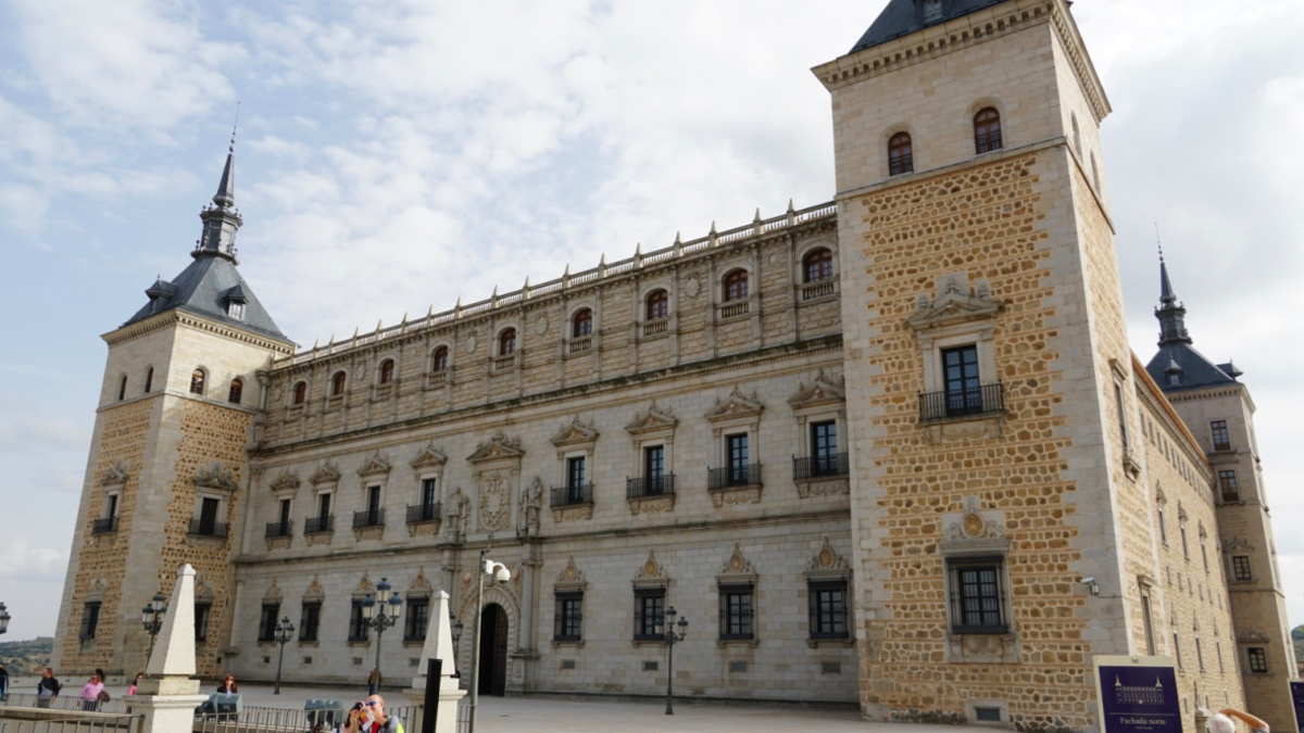 Visiting the Alcazar of Toledo, Spain