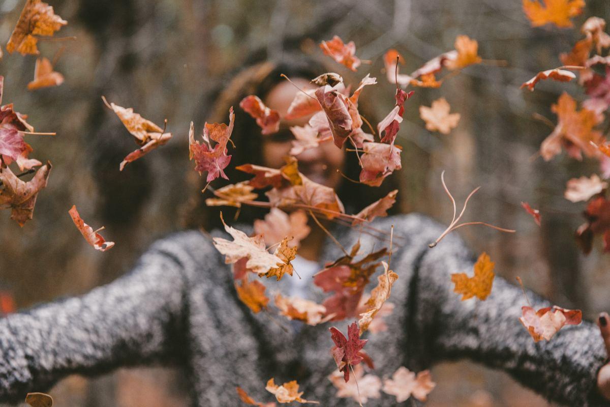 Strolling Through Autumn Leaves