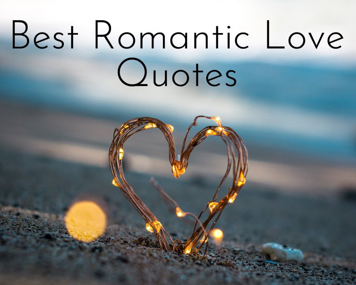 Express how you really feel with this collection of romantic love quotes and sayings.
