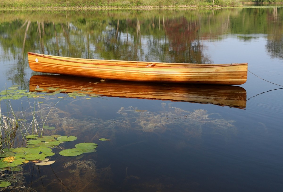 Building a Cedar-Strip Solo Canoe: The Perils and Pitfalls