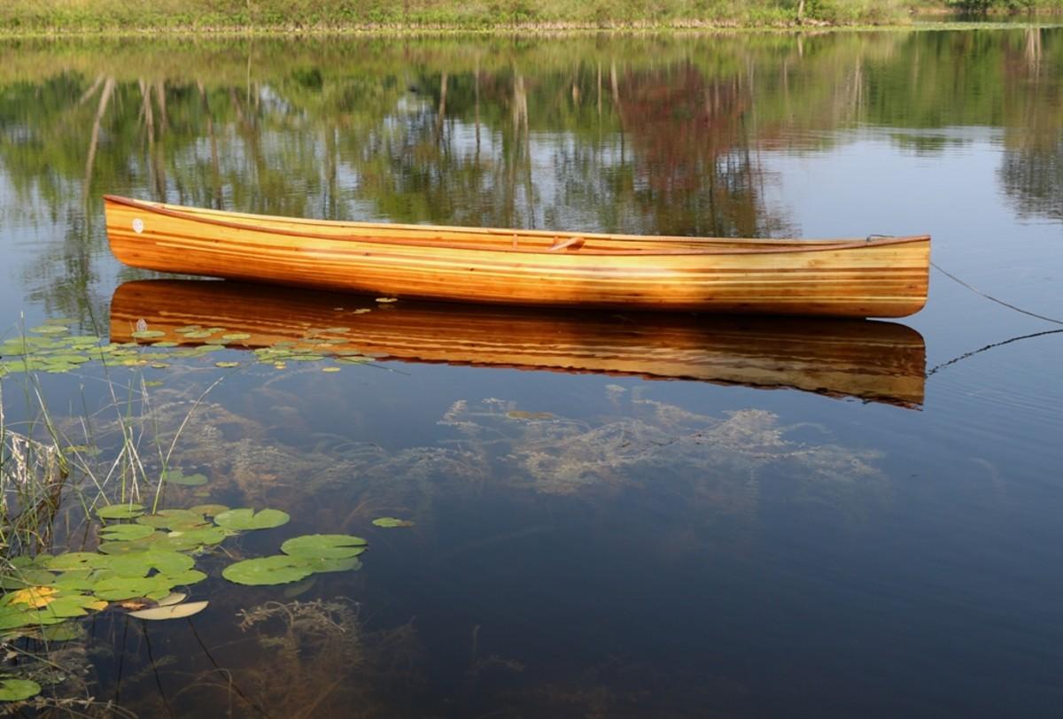 Building a Cedar Strip Solo Canoe: The Perils and Pitfalls
