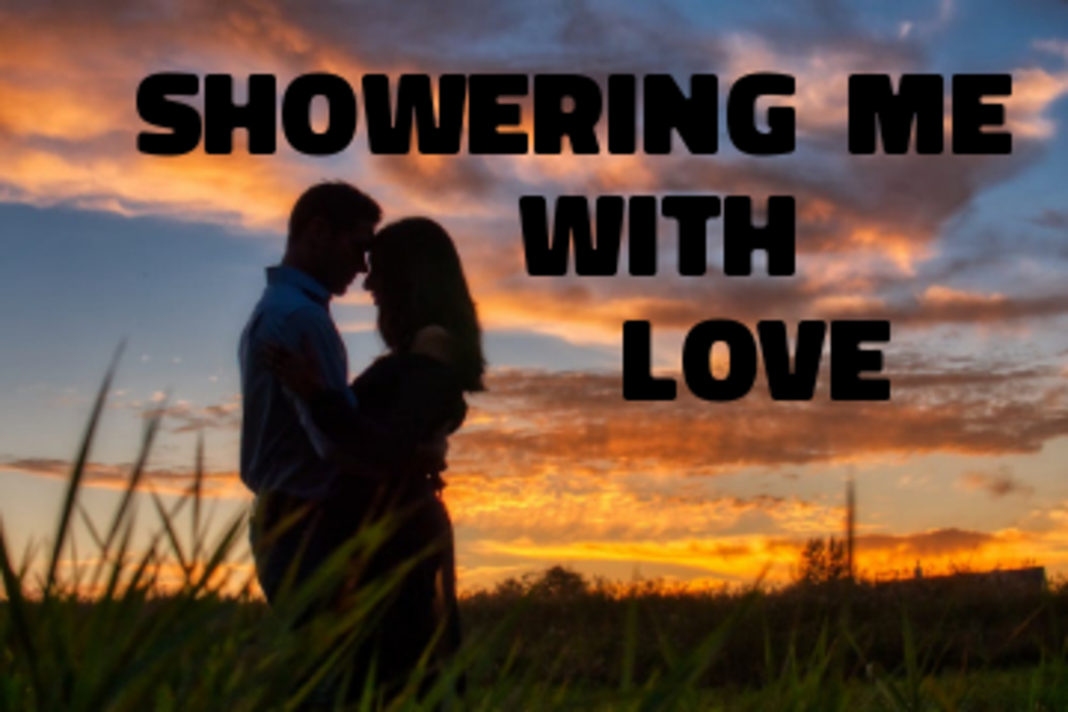 Poem: Showering Me With Love