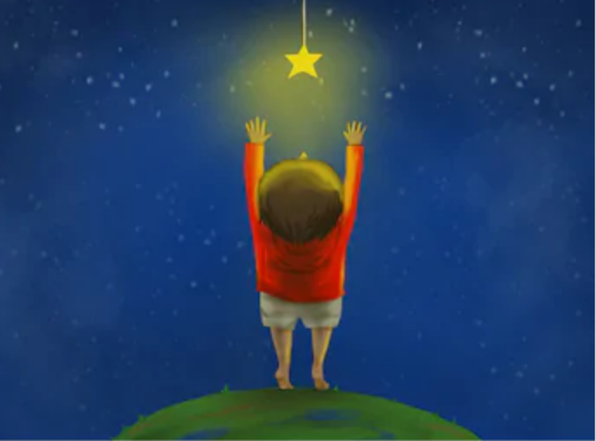 Little Oliver Cory Who Reached for the Stars