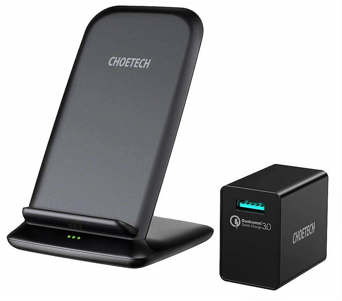 Choetech 15W Wireless Charging Stand Review: Fastest Qi Charger?