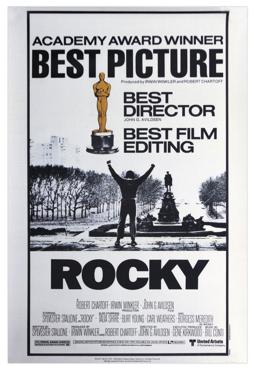 Film's poster after its Oscars success