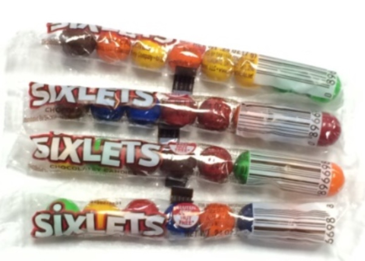 Sixty Nine Years Of Sixlets Candies