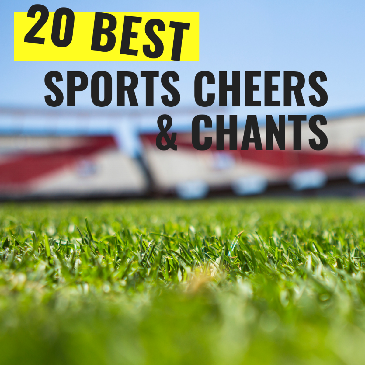 Boost team spirit with these awesome cheers!