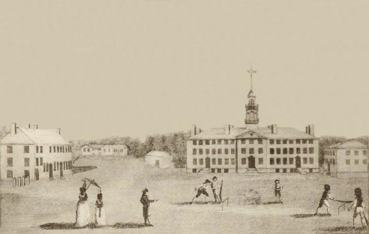 The Story of the First International Cricket Match