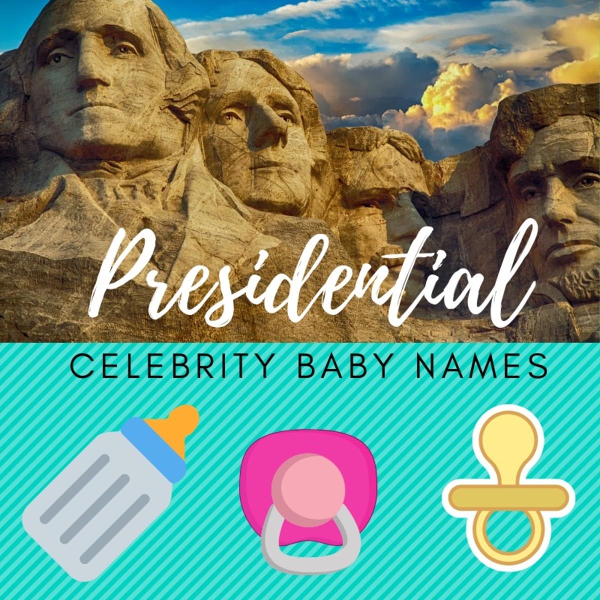 11 Presidential Celebrity Baby Names