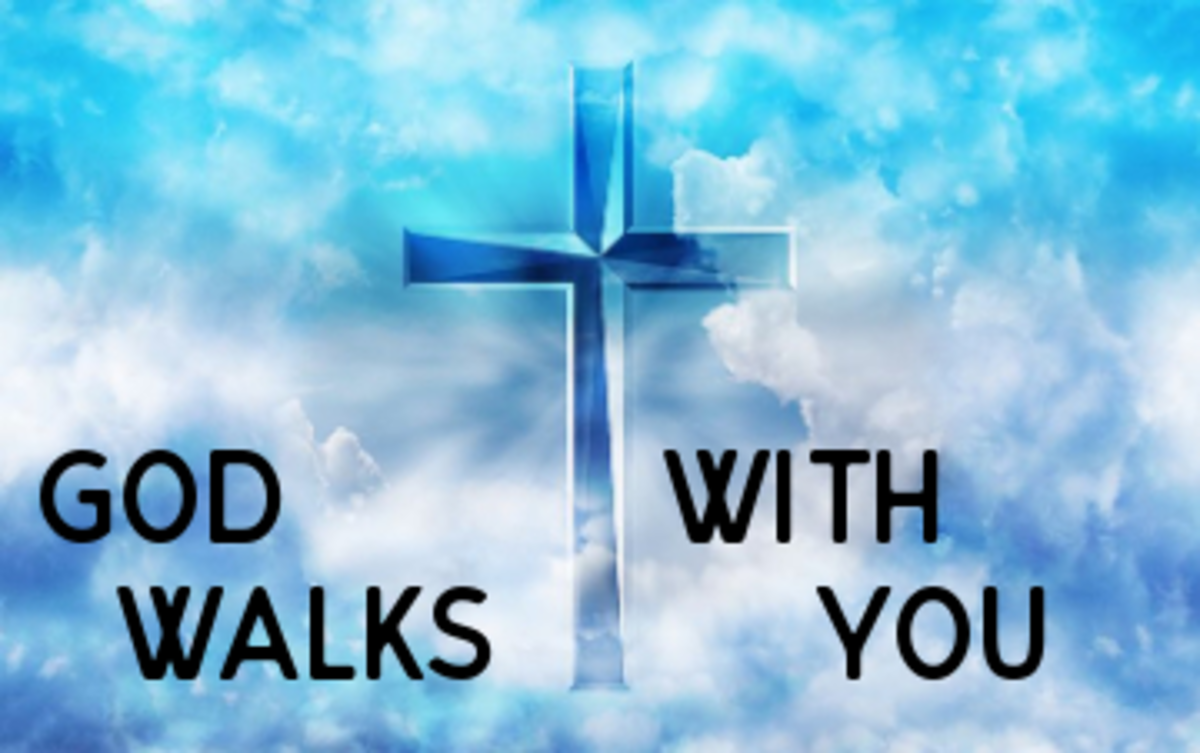 Poem: God Walks With You