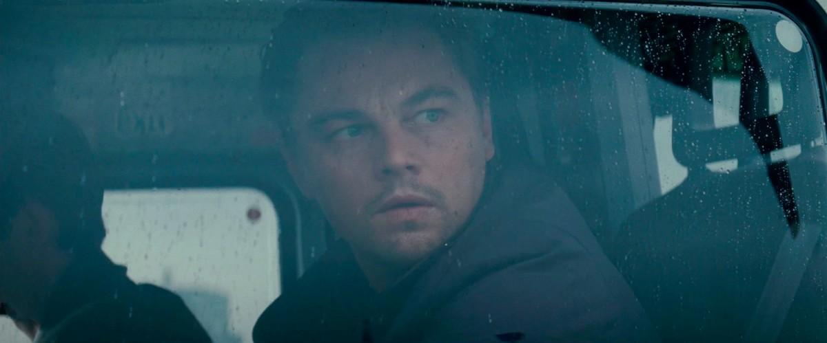 Leonardo DiCaprio as Dominic Cobb in Inception