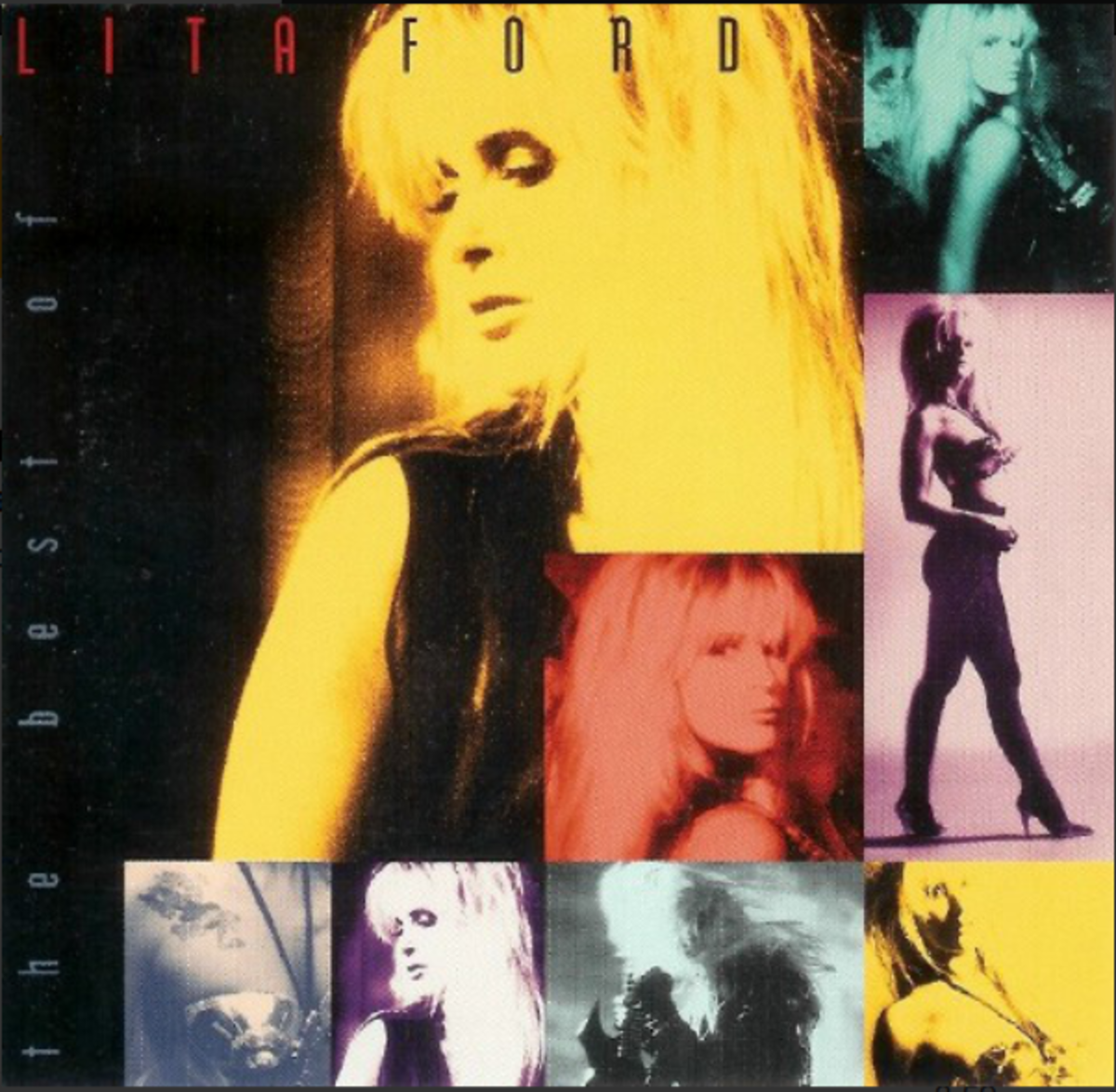 """The Best of Lita Ford"" CD Cover"