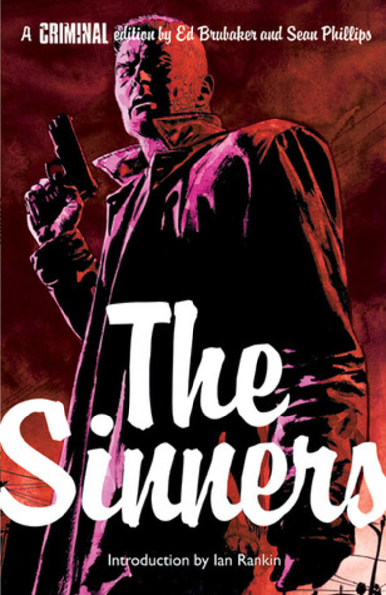 Cover to an edition of Criminal: The Sinners, art by Sean Phillips.