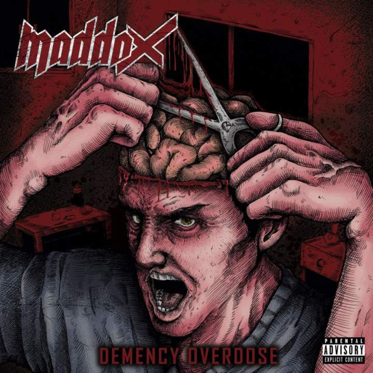 "Review of ""Demency Overdose"" by Mexican Thrash Metal Band Maddox"