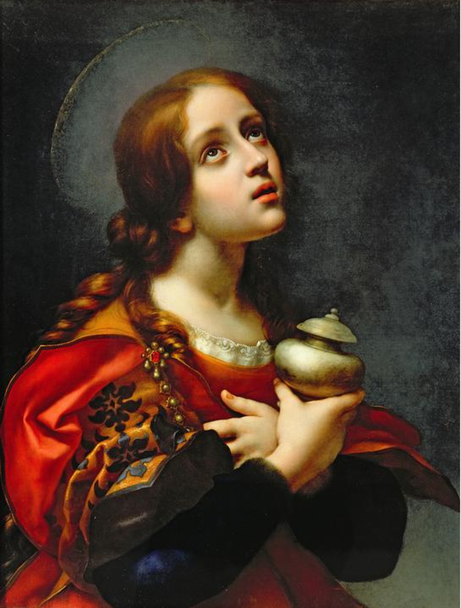 Painting by Carlo Dolci