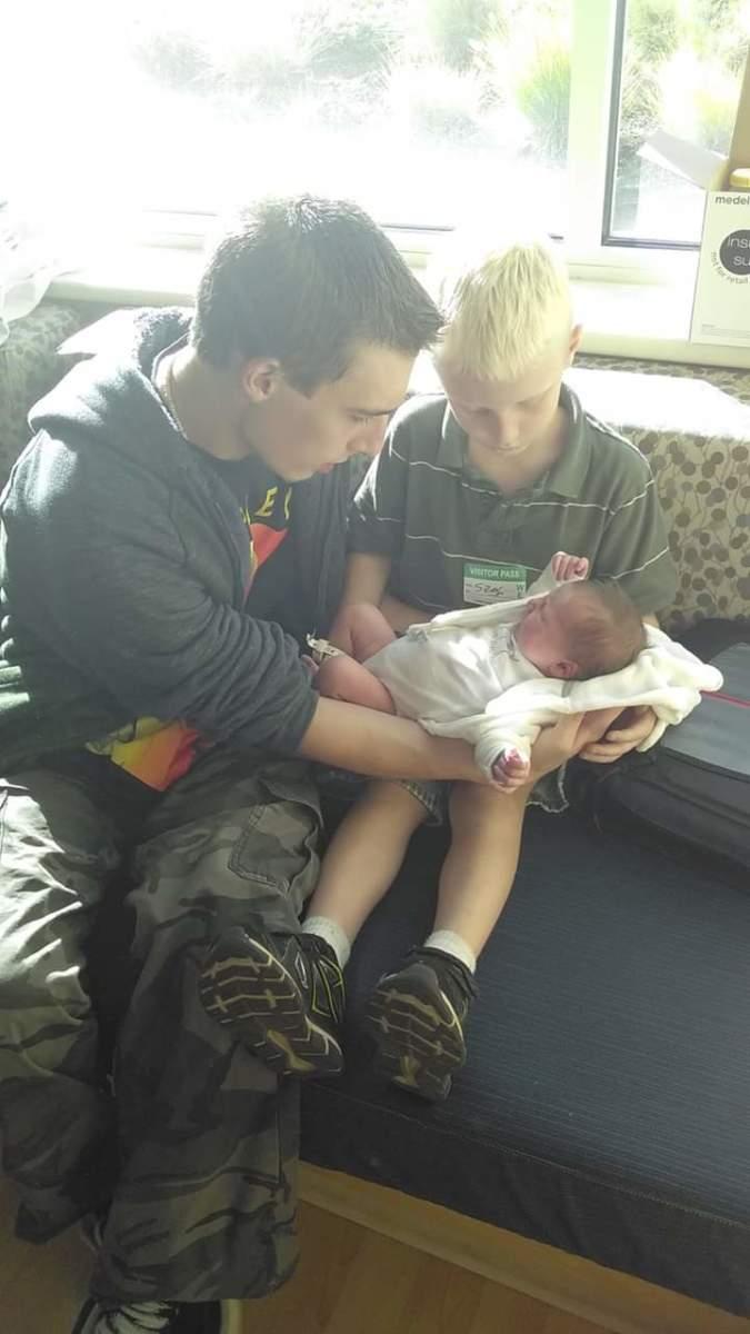 My life.. My 3 boys