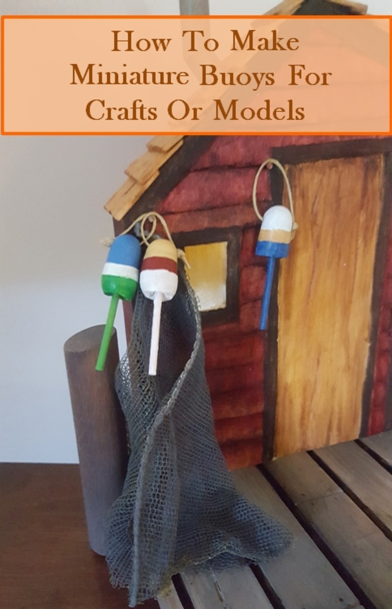 How to Make Miniature Buoys for Craft Projects or Models