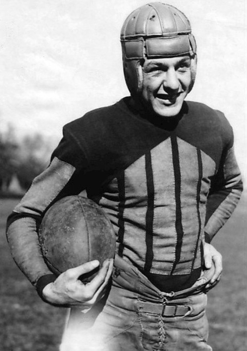 The recruitment of Red Grange would help to mold the NFL as we know it.