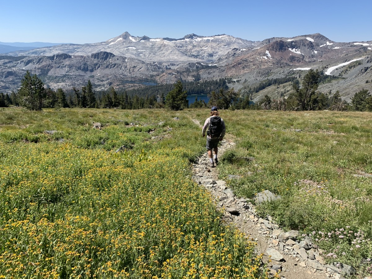 Hiking in Desolation Wilderness