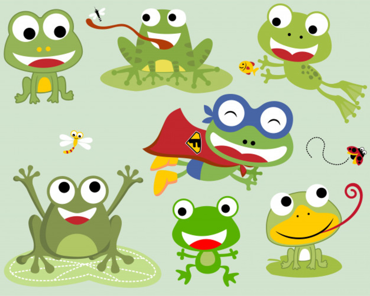 Little Frogs: a Kids Poem
