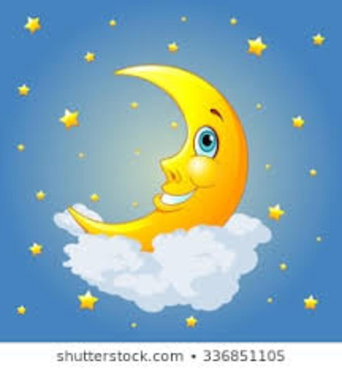 Moon Shine--a Kids Poem
